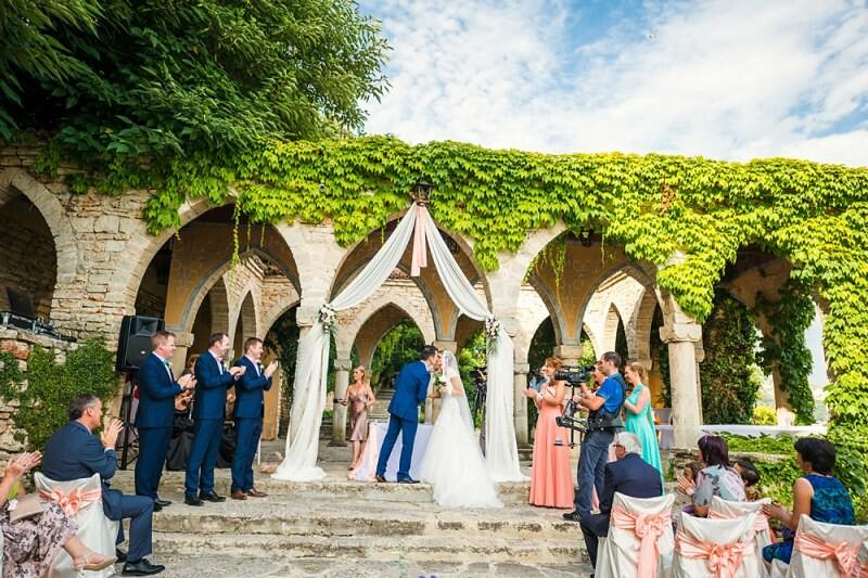 Сватба на открито – новата тенденция при младоженците